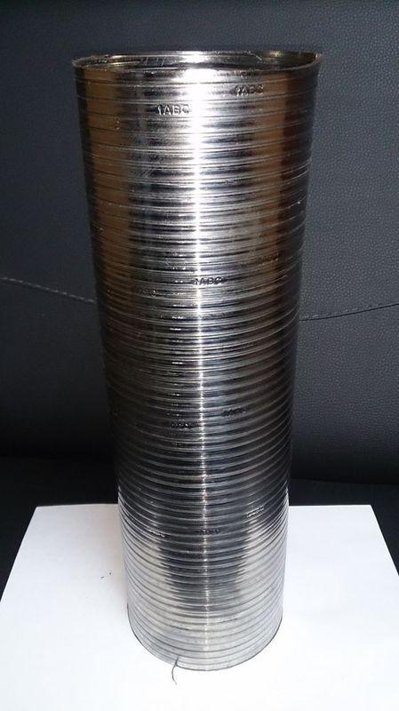 Гофра металлорукава нержавейка d110 длина 360 - цена 460руб