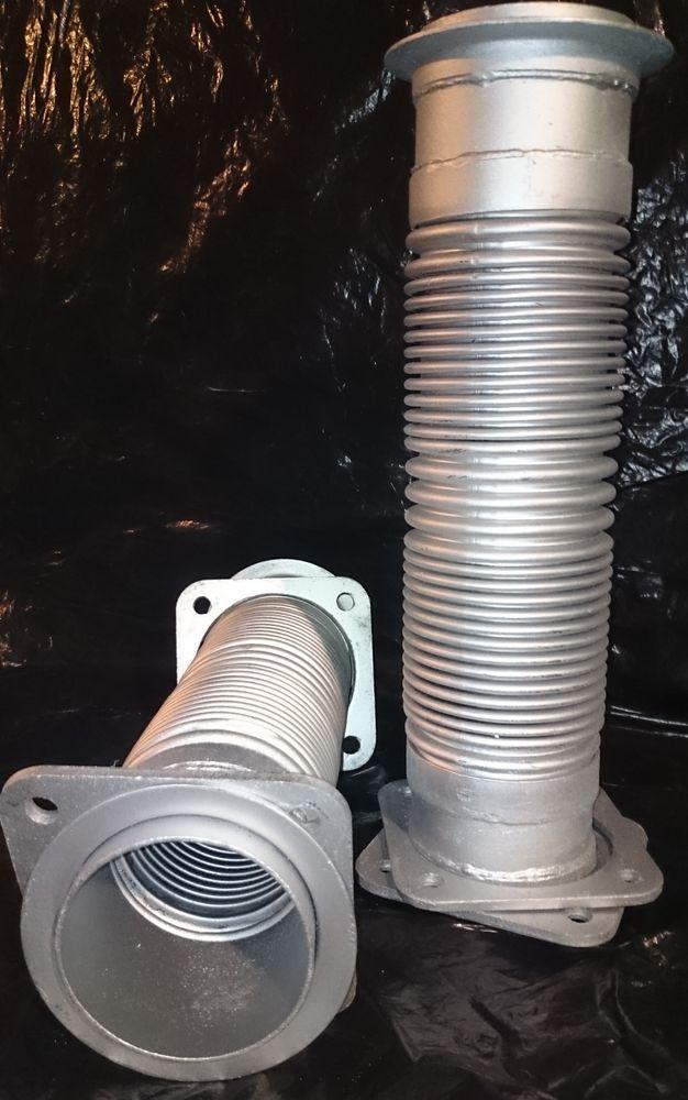 Металлорукав (сильфон)стальной евро КАМАЗ 54115-1203012 - цена 380 руб.